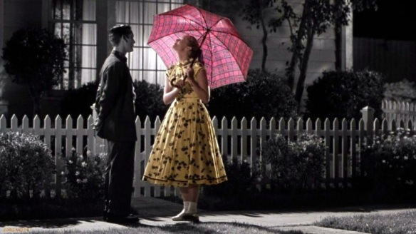 David and Margaret in Pleasantville.